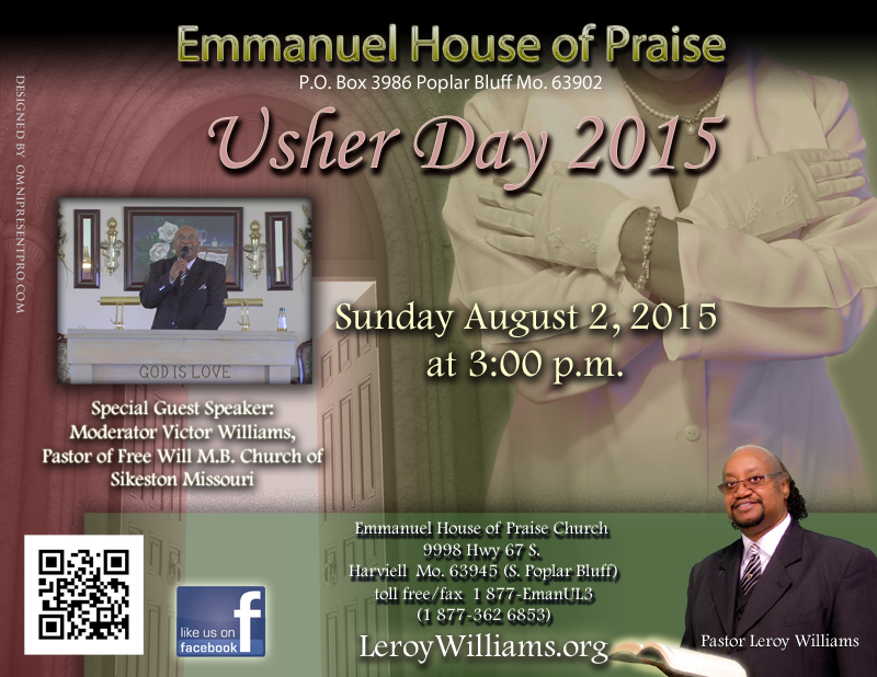 Usher Day Program - Bing images